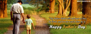 Fathers day Facebook cover photo