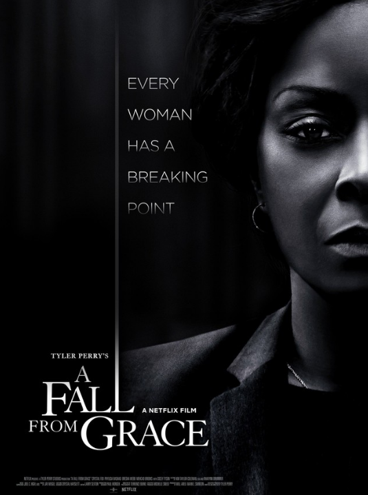 A Fall From Grace, Movie Review by Rawlins, Thriller, Rawlins GLAM, Rawlins Lifestyle, Netflix
