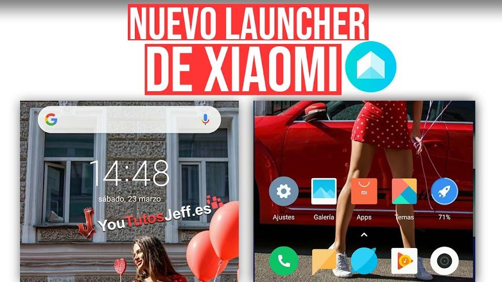 Nuevo Launcher de Xiaomi - Descargar Mint Launcher Gratis