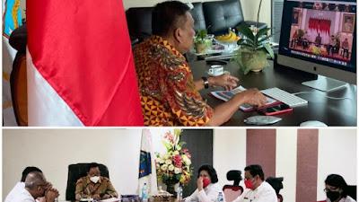 Presiden Jokowi buka Rakornas Pengendalian Inflasi Tahun 2021