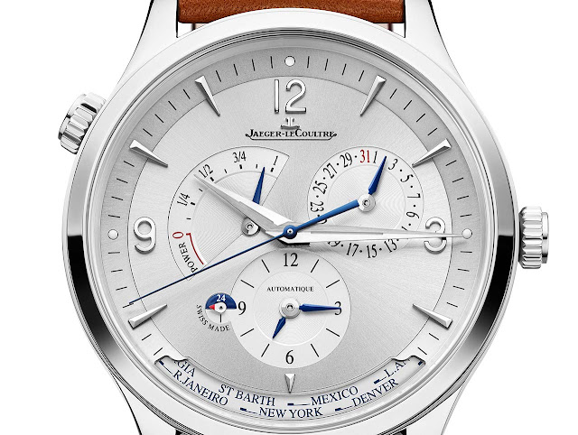 Jaeger-LeCoultre Master Control Geographic in stainless steel ref. Q4128420