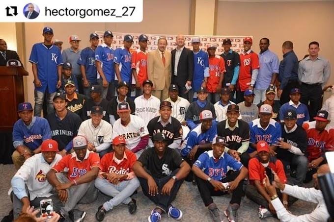 Cientos de Jovencitos se hacen millonarios al firmar con equipos de la MLB