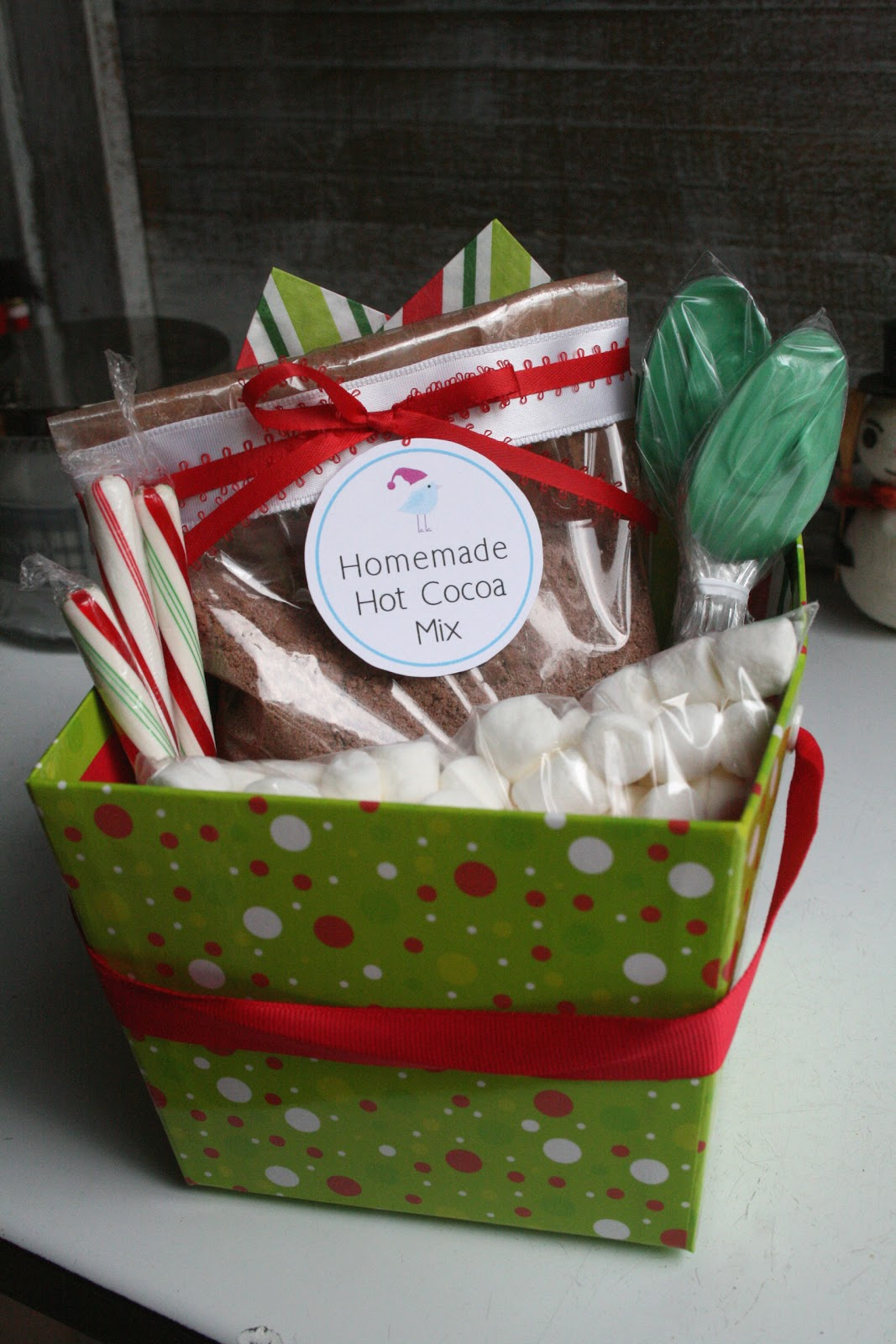 The Nesting Corral: Homemade Christmas Gifts: Hot Cocoa