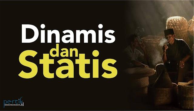 Rehat: Dinamis dan Statis