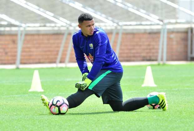 SuperSport United goalkeeper Ronwen Williams