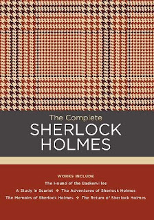 Dogstooth tweed patterned book cover