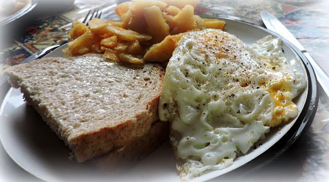 Perfect Egg & Chips