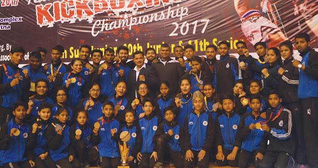 Haryana champions in Kick Boxing National meet, congratulations