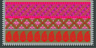 Traditional-illustration-indian-motif-textile-border-210033