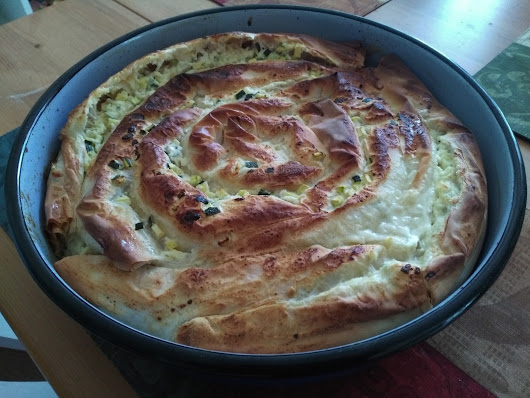 Bosnian Pita Pie: Zucchini (Tikvenjaca) and Cheese (Sirnica) With Store-Bought Filo Dough