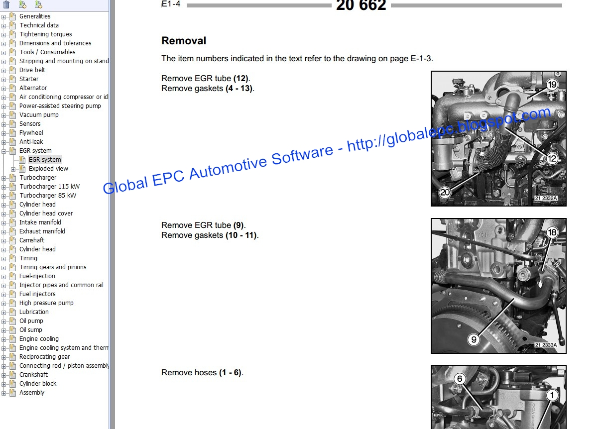 GLOBAL EPC AUTOMOTIVE SOFTWARE: RENAULT MASTER MASCOTT MOVANO WORKSHOP SERVICE MANUALS AND