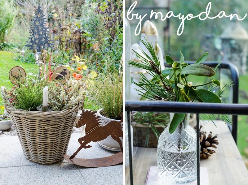Weihnachtsdeko Für Die Terrasse Mayodans Home Garden Crafts