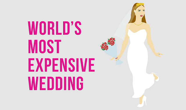 The Anatomy of the World's Most Expensive Wedding