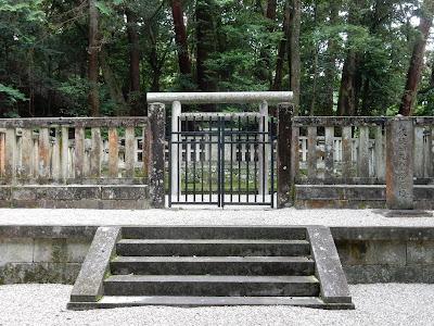 吉野:後醍醐天皇塔尾陵