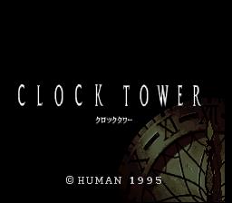 Clock Tower Deluxe Super Nintendo