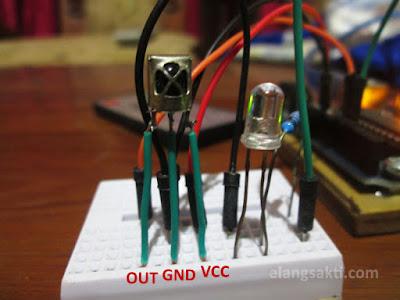 rangkaian dasar dan skema receiver infrared