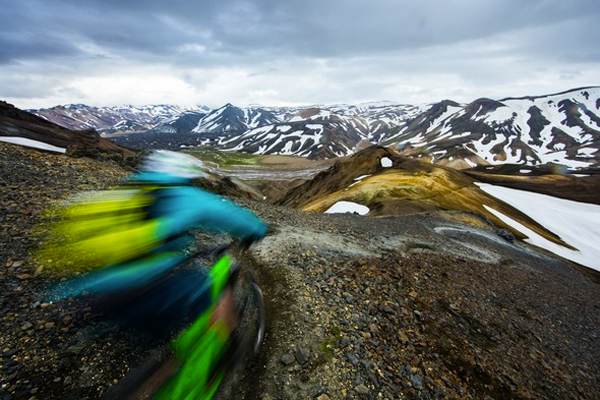 Iceland feat. Yeti Cycles SB4.5C