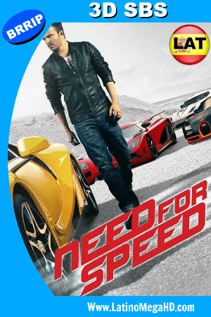Need For Speed: La Pelicula (2014) Latino Full 3D SBS 1080P ()