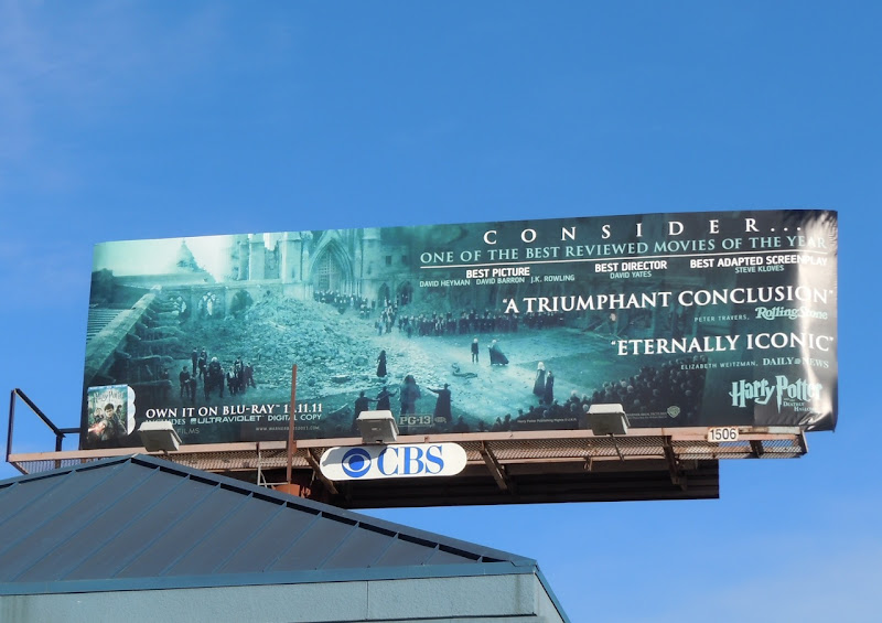 Consider Harry Potter billboard