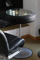 Ideas para reciclar llantas de automóvil