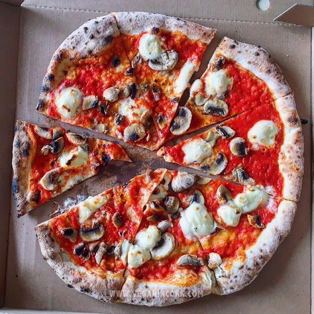 vegan pizza mushrooms Pompeii Cork
