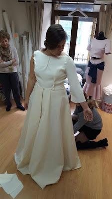 Primera prueba vestido de novia
