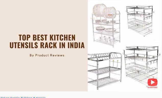 Top Best Kitchen Utensils Rack in India 2021 | STEEL RACK FOR KITCHEN UTENSILS