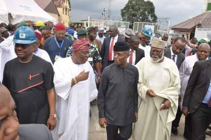 Osinbajo unveils $8 million Port Harcourt Dockyard Treatment Plant | Saga  Gist - Top Source for Nigeria News