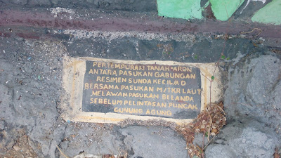 Monumen Operasi Lintas Laut Gilimanuk Bali