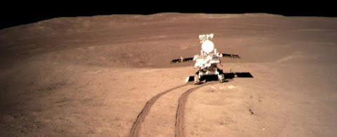 Mysterious substance found on moon   Rover Yutu-2