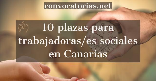 Convocatoria del gobierno de Canarias para trabajadoras/es sociales