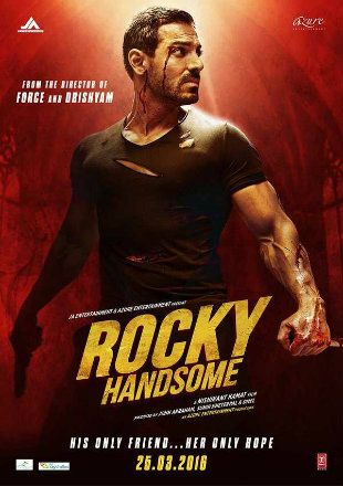 Rocky Handsome 2016 Full Hindi Movie Download HDRip 720p