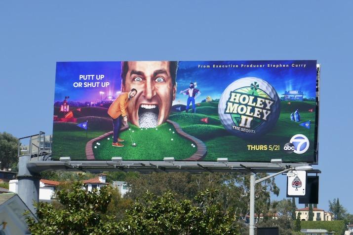 Holey Moley II Sequel billboard