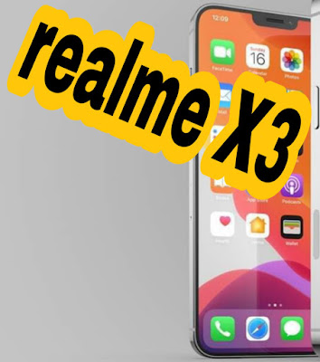 Les spécifications de Realme X3 avec une charge rapide de 30 W et une prise en charge de la connexion 5G