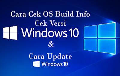 Cara Cek Versi Windows 10 atau OS Build Info