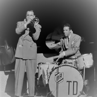 Picture of Tommy Dorsey and Buddy Rich
