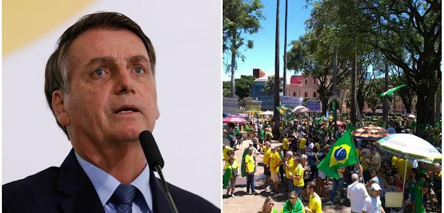 Políticos condenam Bolsonaro por expor seus seguidores ao coronavírus
