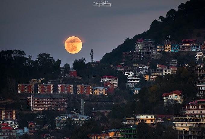 Supermoon  Shimla, 2020