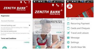 Zenith Bank Mobile App
