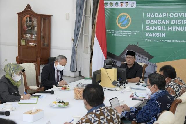 "Gubernur Jabar Deklarasikan Pilkada Serentak 2020 di 8 Daerah di Jabar ""Aman"""