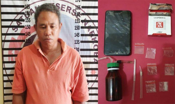Polisi Gerebek Rumah Tempat Transaksi Narkotika