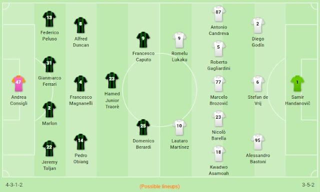 Prediksi Sassuolo vs Inter Milan — 20 Oktober 2019