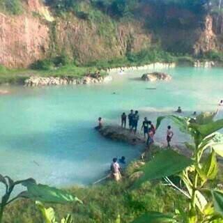 Danau Blingoh awal kali ditemukan netizen