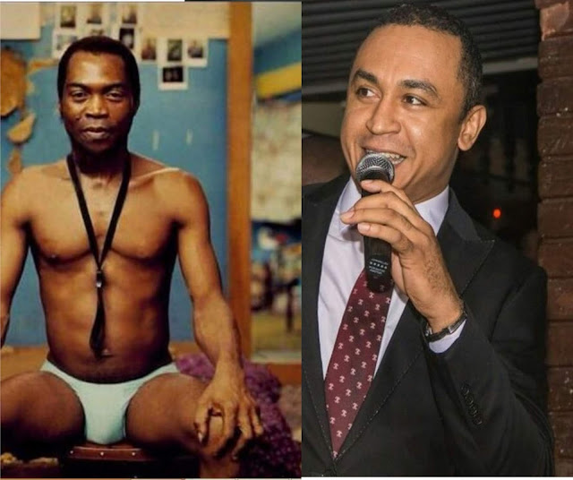 'When I was growing up my born again aunt told me that Fela was evil' -  Daddy Freeze
