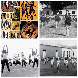 ogos olímpicos da antiguidade, História da Educação Física, jogos olímpicos, educação física higienista, educação física militarista, História da Educação Física,