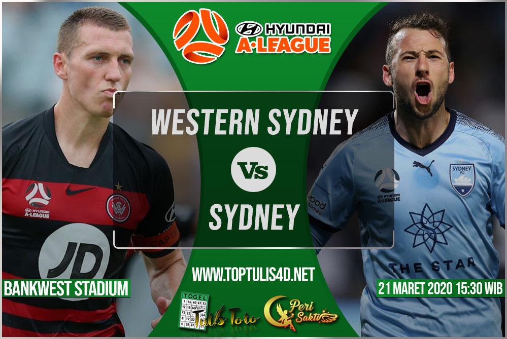 Prediksi Western Sydney vs Sydney 21 Maret 2020