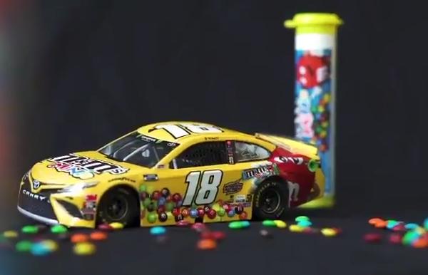 NrReference - NASCAR News: Kyle Busch's M&M's paint scheme ...