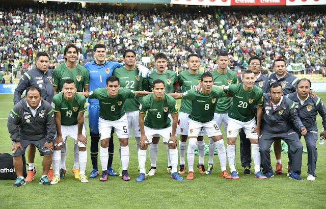 Formación de Bolivia ante Chile, Clasificatorias Rusia 2018, 5 de septiembre de 2017