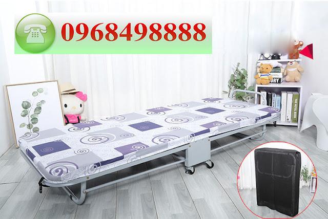 Giường phụ khách sạn nệm mút cao cấp, giá rê tại Hà Nội