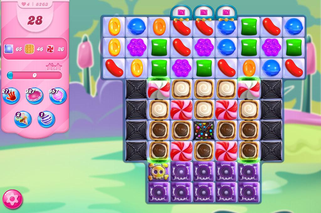 Candy Crush Saga level 8263